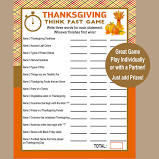 Fun Thanksgiving Day games to play virtually online.