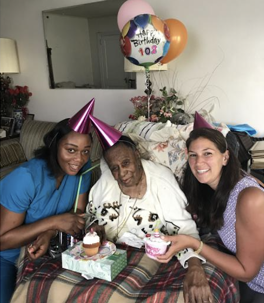 Mamaroneck, NY Resident Celebrates her 102nd Birthday with STEPS Home Care