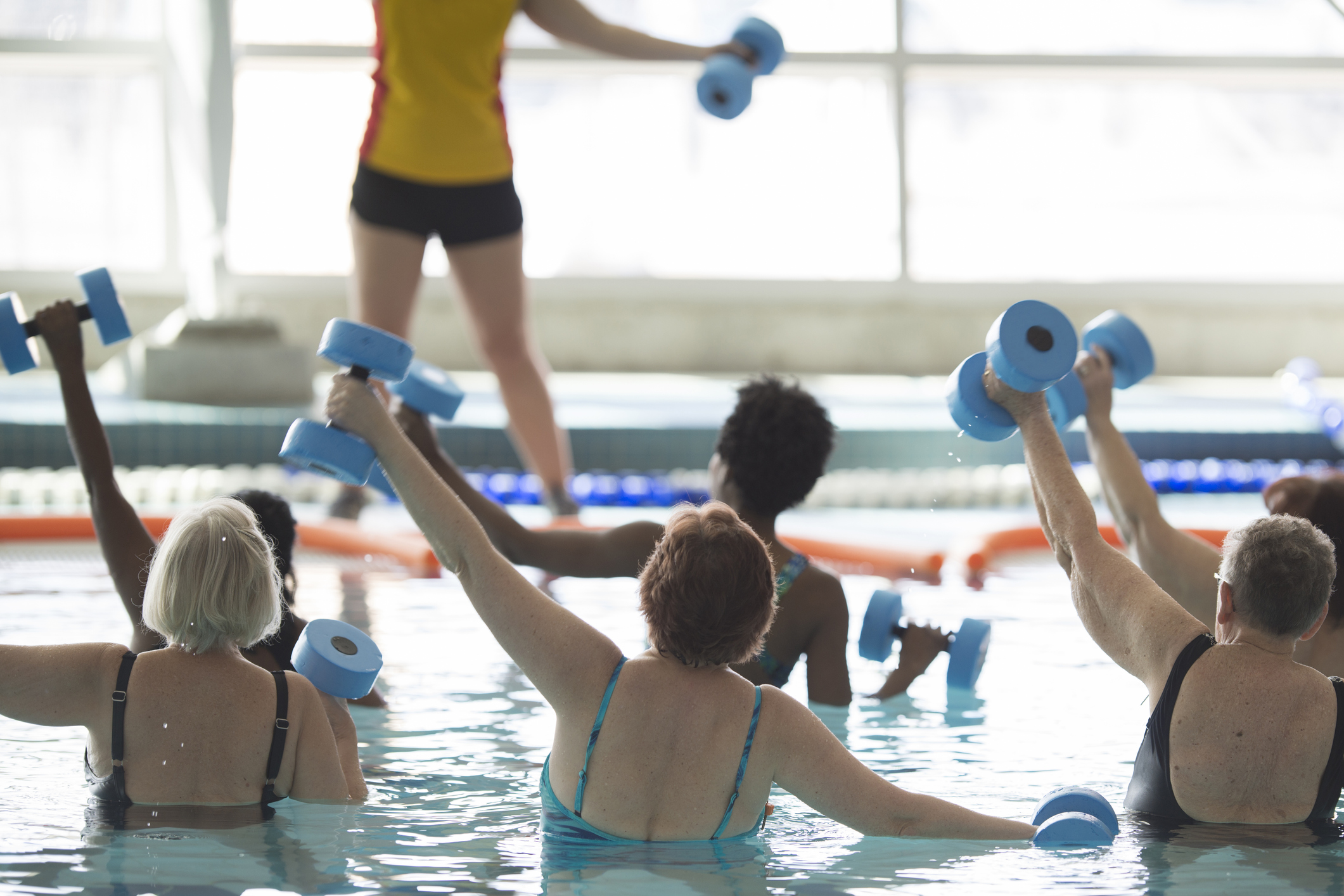 Water Aerobics for Seniors in Westchester & Fairfield County